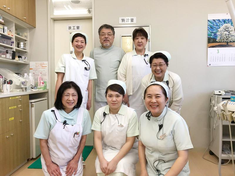 よしだ歯科医院(歯医者)は青森県初!『光と水の最新治療システム(除菌水とプラズマレーザー治療)』を導入。一般歯科(歯周病・虫歯治療など)・矯正歯科・小児歯科(こども歯科)・かみ合わせ・ドライマウス・口腔機能訓練・ホワイトニング・審美歯科・PMTC・顎関節を考慮した歯列矯正・予防歯科はもちろんのこと、全身的な観点からも皆さんの歯・口腔に関する健康をサポートします。歯科衛生士の求人募集・採用情報。Yoshida Dental Clinic